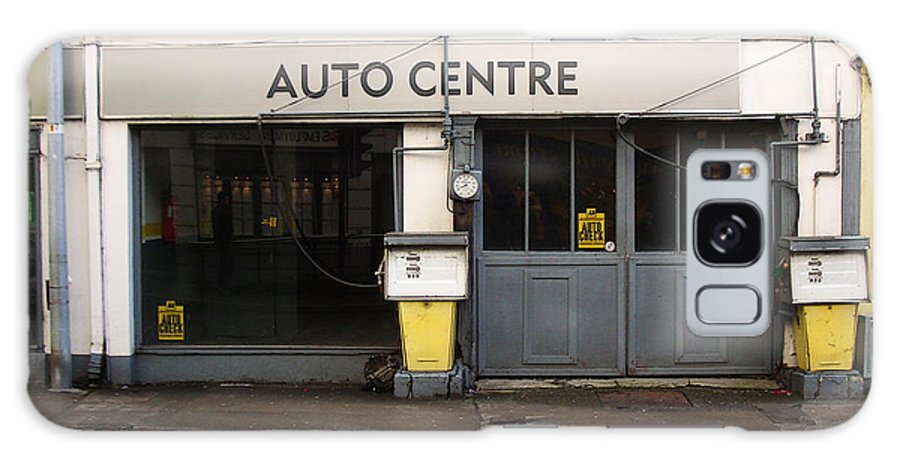Auto Galaxy Case featuring the photograph Auto Centre by Tim Nyberg