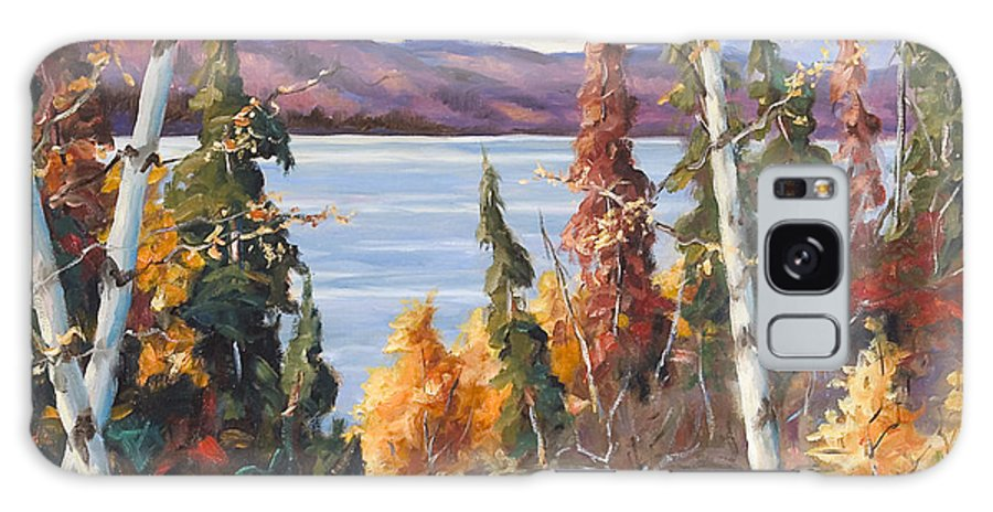 Art Galaxy S8 Case featuring the painting Automn Colors by Richard T Pranke