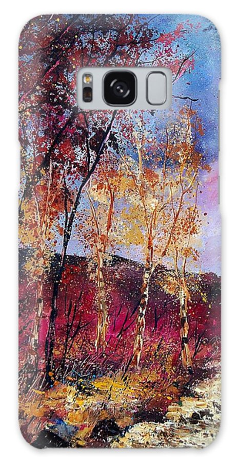 Landscape Galaxy S8 Case featuring the painting Autumn 760808 by Pol Ledent