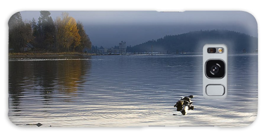 Lake Coeur D' Alene Galaxy Case featuring the photograph Autumn At The Lake by Idaho Scenic Images Linda Lantzy