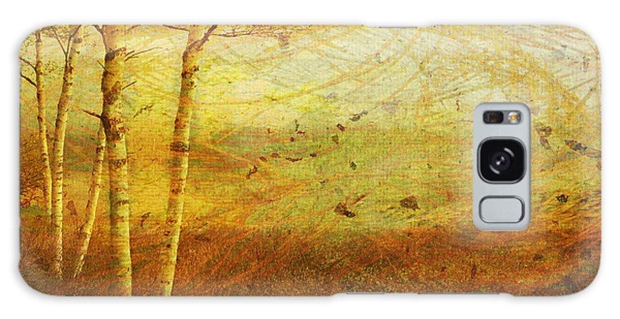 Autumn Galaxy S8 Case featuring the digital art Autumn Breeze by Ken Walker