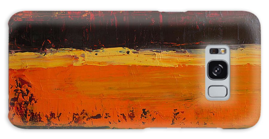 Abstract Painting Galaxy Case featuring the painting Autumn Day by Patricia Awapara