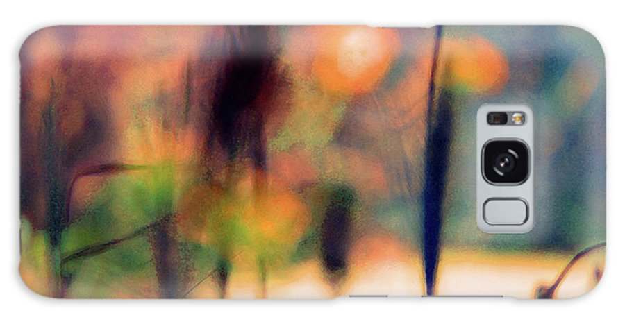 Nature Galaxy S8 Case featuring the photograph Autumn Dreams Abstract by Karen Adams