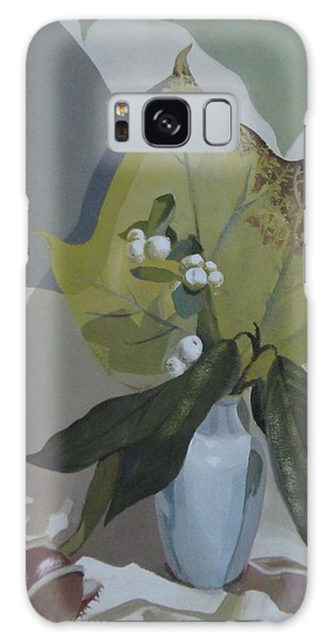 Still Life Galaxy S8 Case featuring the painting Autumn by Elena Oleniuc