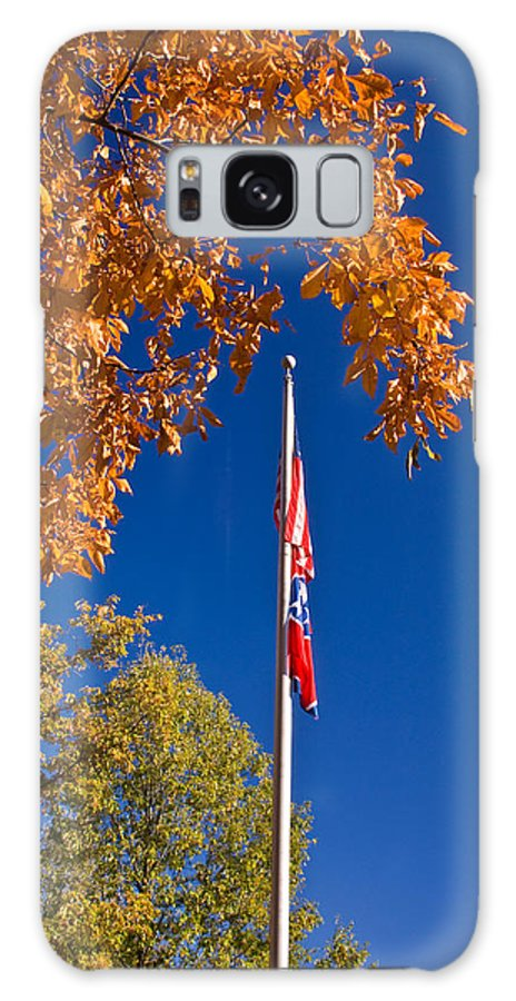 Flag Galaxy S8 Case featuring the photograph Autumn Flag by Douglas Barnett