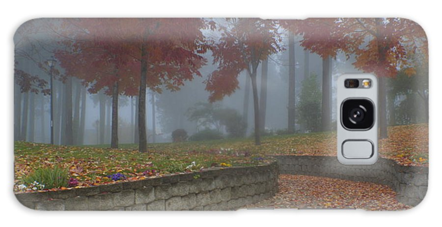 Autumn Galaxy Case featuring the photograph Autumn Fog by Idaho Scenic Images Linda Lantzy