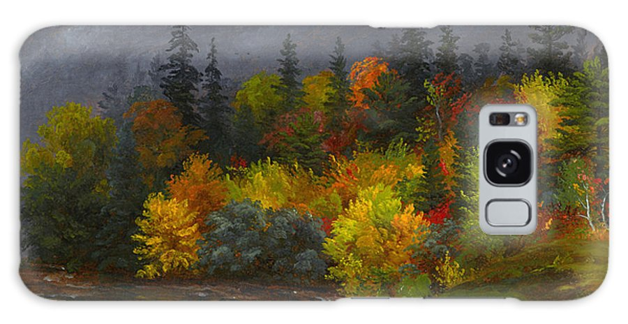 Autumn Foliage By Jasper Francis Cropsey Galaxy S8 Case featuring the painting Autumn Foliage by Jasper Francis