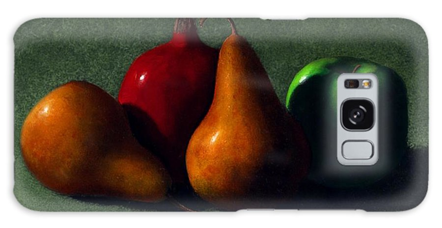 Still Life Galaxy S8 Case featuring the painting Autumn Fruit by Frank Wilson