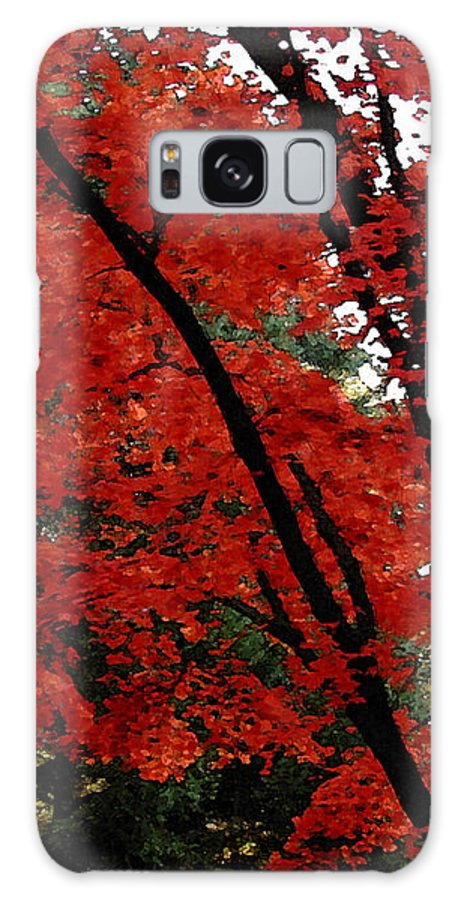 Autumn Galaxy Case featuring the photograph Autumn In New England by Melissa A Benson