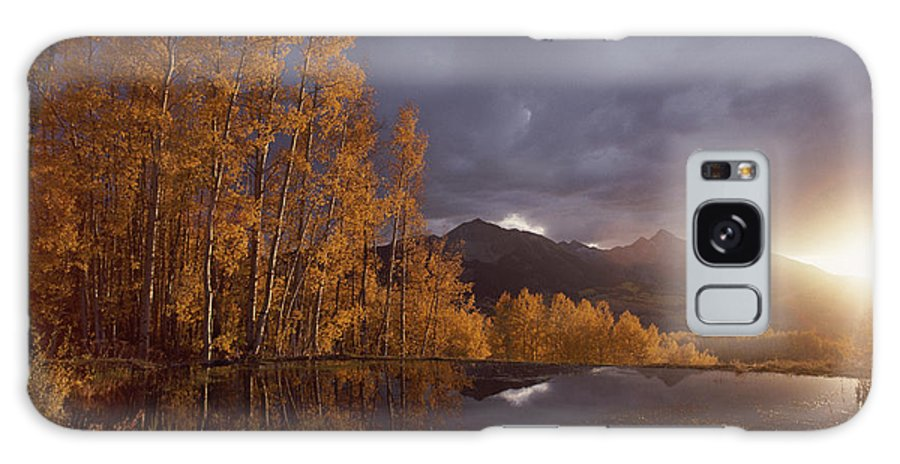 North America Galaxy S8 Case featuring the photograph Autumn Landscape Near Telluride by Annie Griffiths