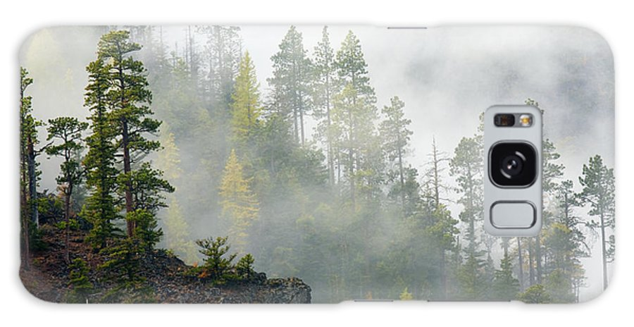 Ridges Galaxy S8 Case featuring the photograph Autumn Mist by Mike Dawson