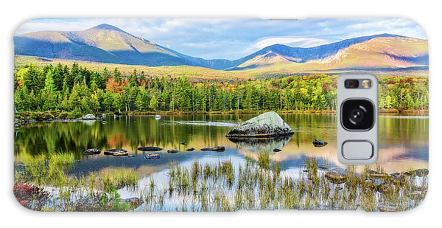Baxter State Park Me. Galaxy S8 Case featuring the photograph Autumn Mt.katahdin Baxter Sp Maine by Michael Hubley