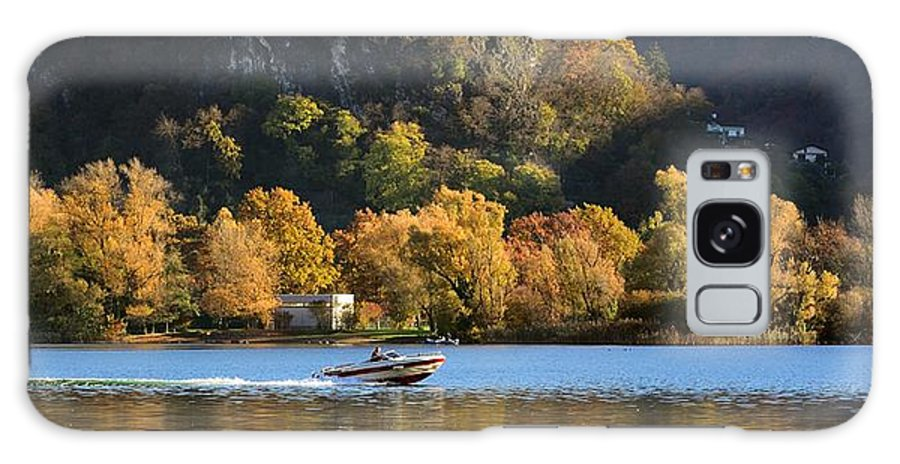 Landscape Galaxy S8 Case featuring the photograph Autumn On The Lake by Massimo Battaglia