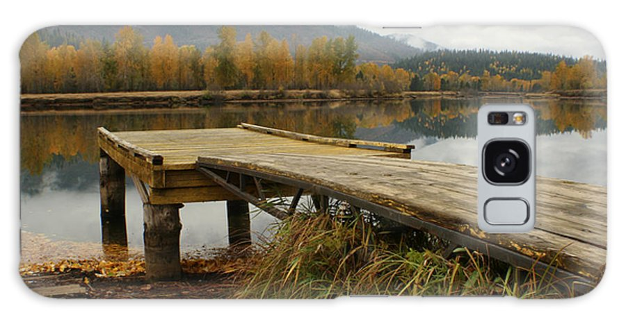 River Galaxy Case featuring the photograph Autumn On The River by Idaho Scenic Images Linda Lantzy