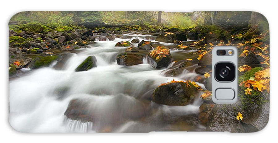 Stream Galaxy S8 Case featuring the photograph Autumn Passages by Mike Dawson