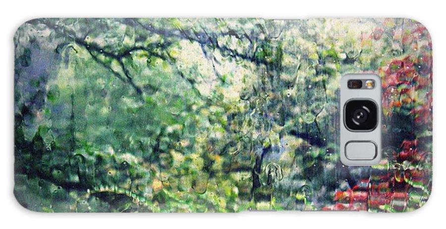 Autumn Galaxy S8 Case featuring the photograph Autumn Rain by Sarah Loft