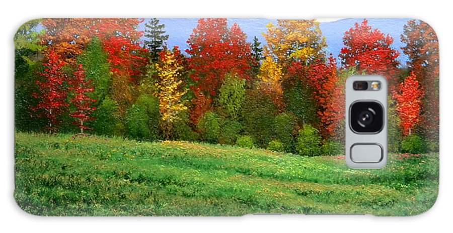 Autumn Galaxy S8 Case featuring the painting Autumn Rhapsody by Frank Wilson