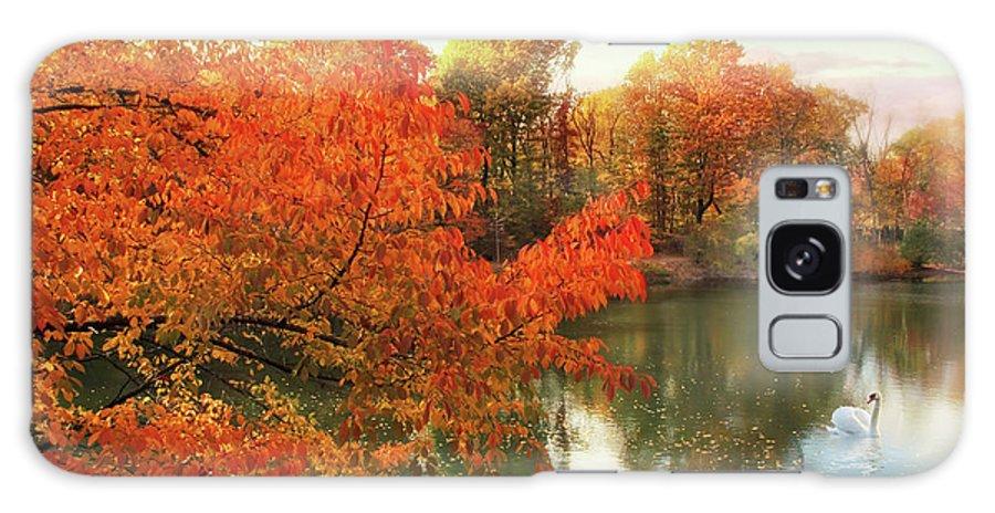 Autumn Galaxy S8 Case featuring the photograph Autumn Splendor by Jessica Jenney
