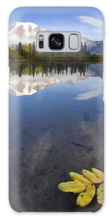 Rainier Galaxy S8 Case featuring the photograph Autumn Suspended by Mike Dawson
