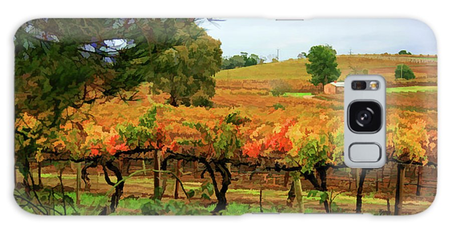 Vines Galaxy S8 Case featuring the photograph Autumn Vines by Douglas Barnard