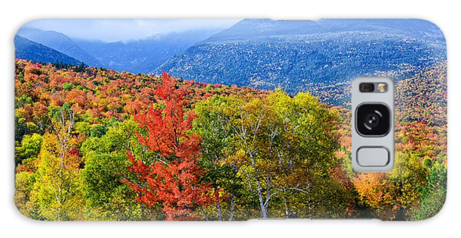 Autumn Galaxy S8 Case featuring the photograph Autumn White Mountains Nh by Michael Hubley