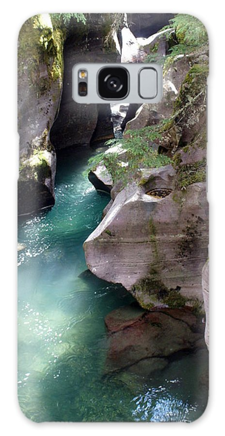Glacier National Park Galaxy S8 Case featuring the photograph Avalanche Creek Glacier National Park by Marty Koch