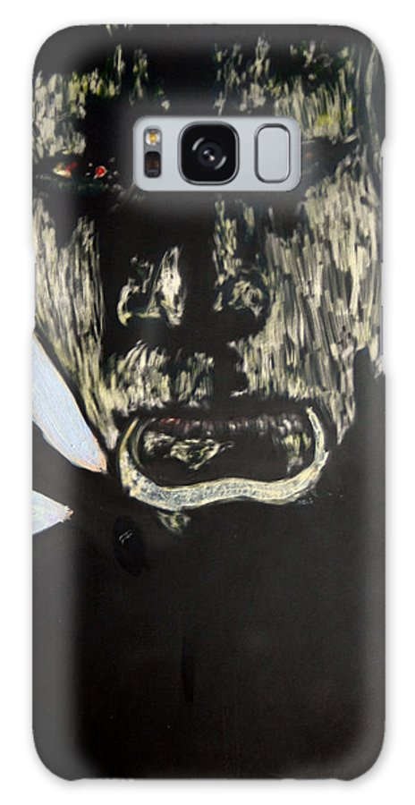 Galaxy Case featuring the mixed media Avenging Angel by Chester Elmore