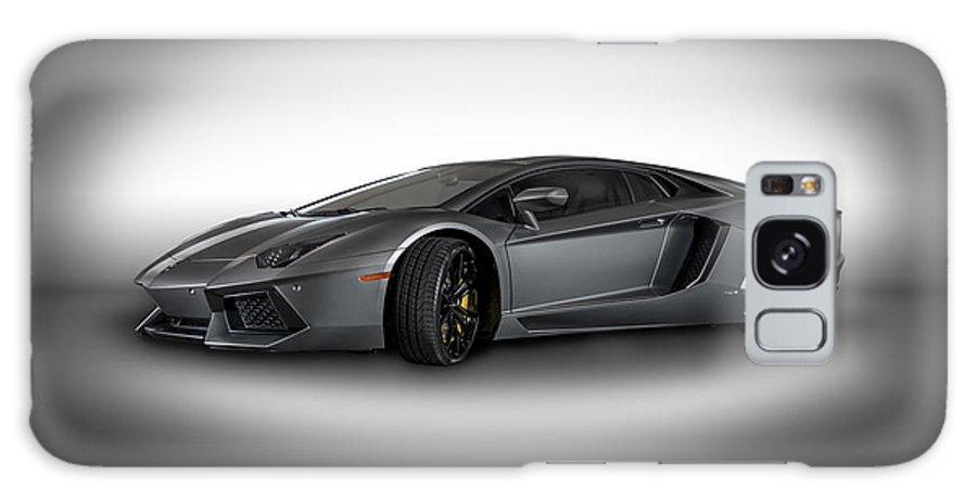 Lamborghini Galaxy S8 Case featuring the photograph Aventador Lp 700-4 Grigio Titans by Bill Brock