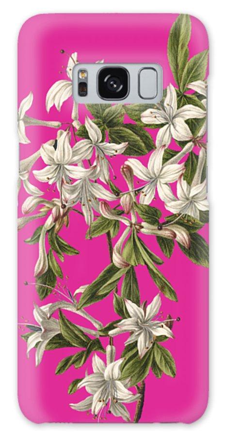 Azalia Galaxy S8 Case featuring the painting Azalia by M de Gijselaar