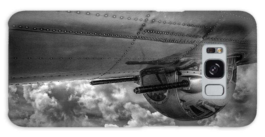 B17 Galaxy S8 Case featuring the photograph B17 Turret by Mike Burgquist
