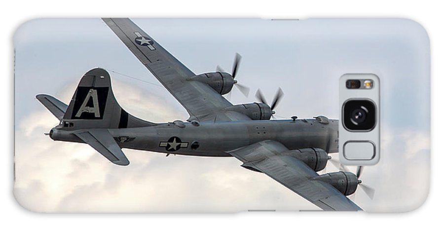 Boeing Galaxy S8 Case featuring the photograph B-29 Superfortress by Bill Lindsay