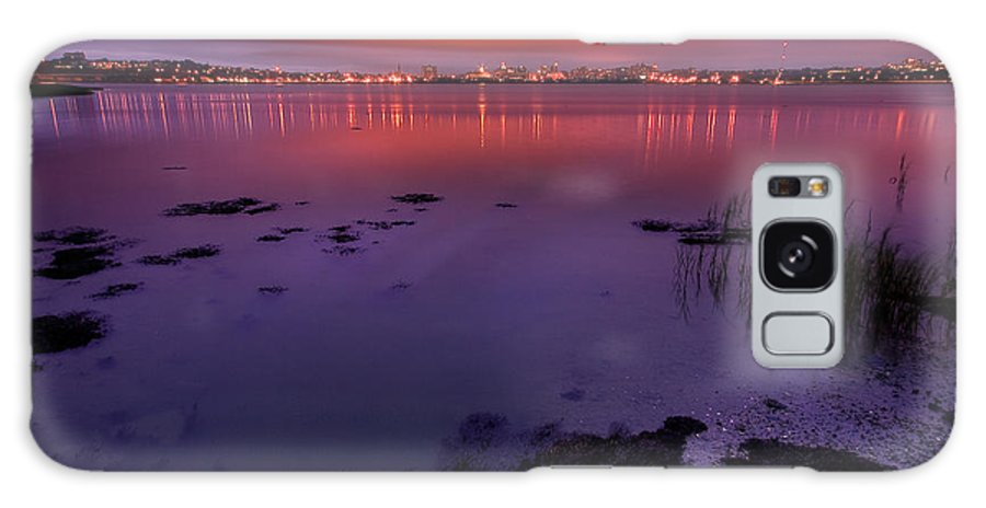 Landscape Galaxy S8 Case featuring the photograph Back Cove Hdr by Charlie Widdis