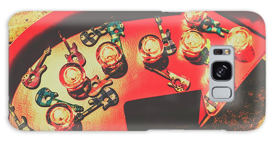 Guitar Galaxy Case featuring the photograph Backstage Pass by Jorgo Photography - Wall Art Gallery