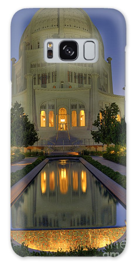 Bronstein Galaxy S8 Case featuring the photograph Bahai Temple by Sandra Bronstein
