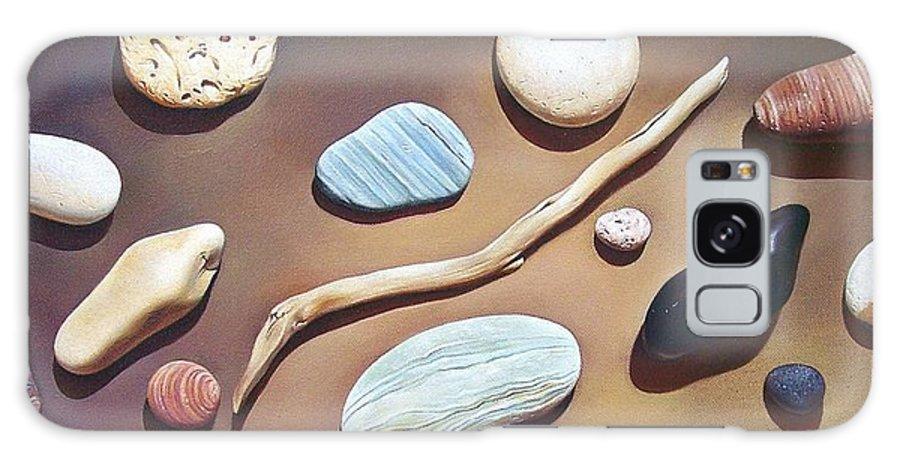Still Life Galaxy S8 Case featuring the painting Balance by Elena Kolotusha