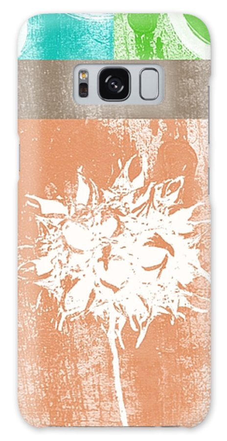 Balance Galaxy Case featuring the mixed media Balance by Linda Woods