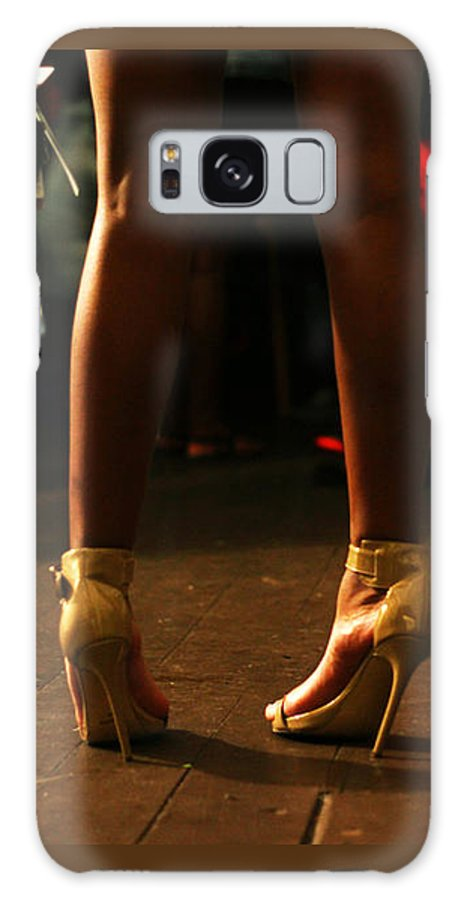 Heels Galaxy S8 Case featuring the photograph Balancing Act by Lorna Ziehm