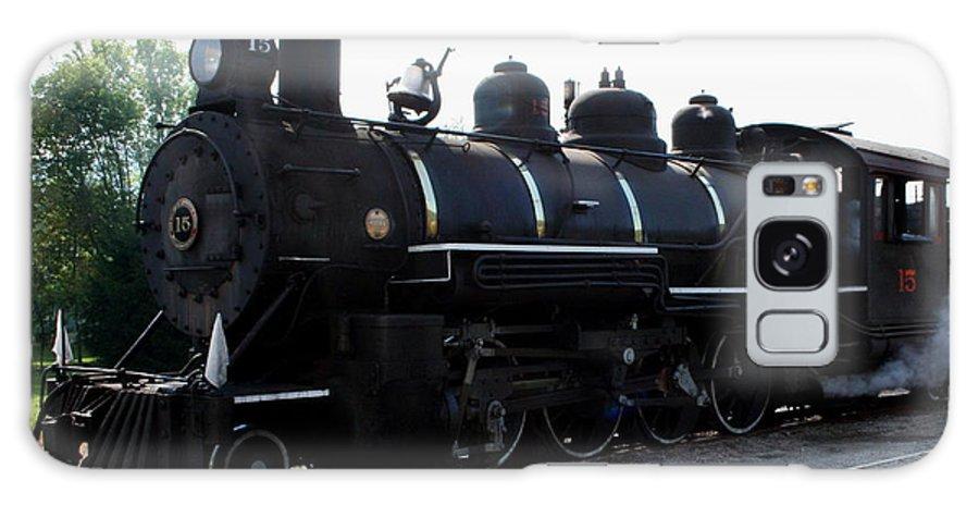 Railroad Galaxy S8 Case featuring the photograph Baldwin Locomotive by Rebecca Smith