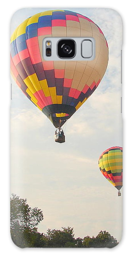 Galaxy S8 Case featuring the photograph Balloon Race by Luciana Seymour