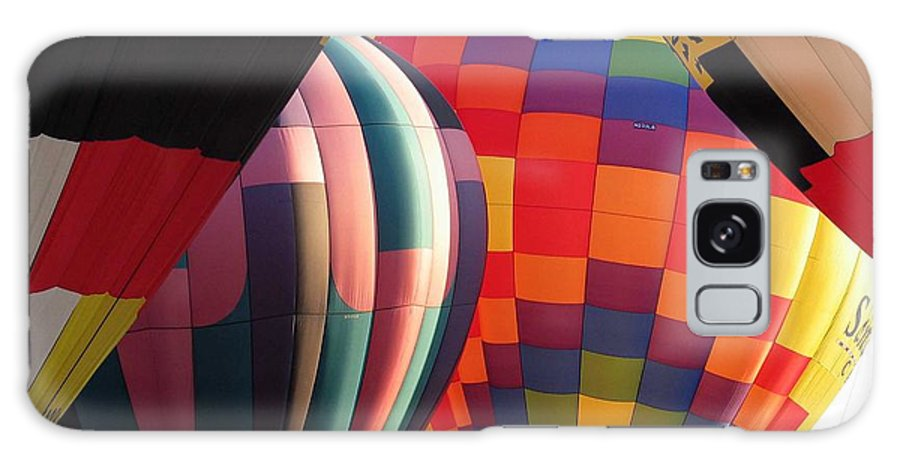 Hot Air Balloons Galaxy Case featuring the photograph Balloons by Margaret Fortunato