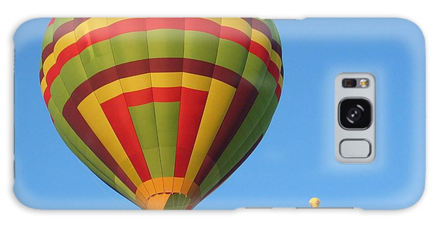 Hot Air Balloons Galaxy S8 Case featuring the photograph Balloons New Mexico by Margaret Fortunato