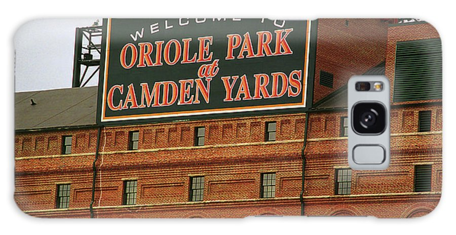 America Galaxy S8 Case featuring the photograph Baltimore Orioles Park At Camden Yards by Frank Romeo