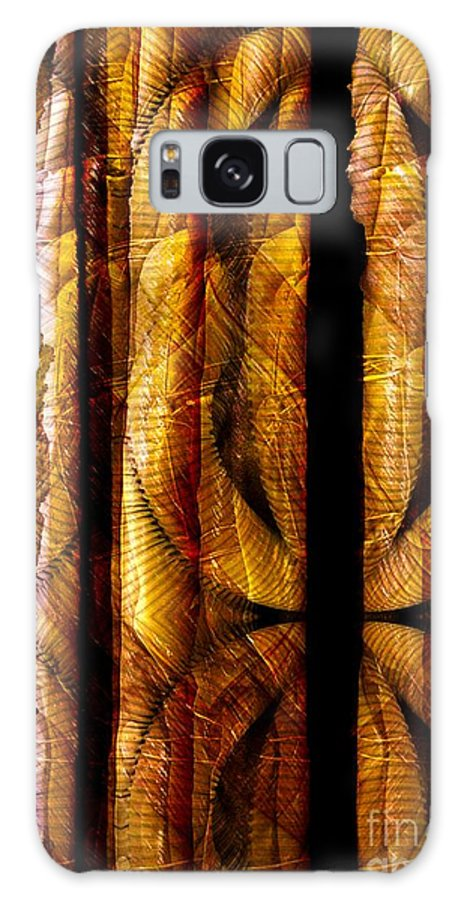 Bamboo Galaxy Case featuring the digital art Bamboo by Ron Bissett