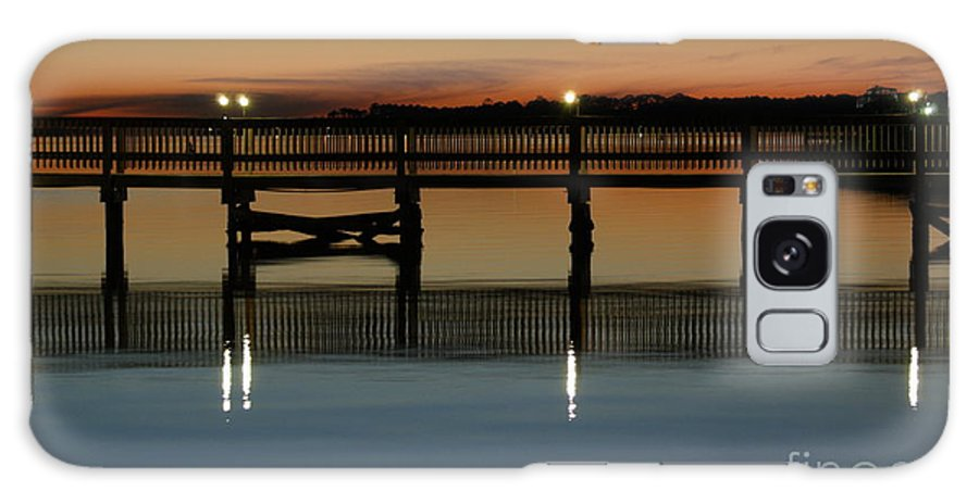 Pier Galaxy S8 Case featuring the photograph Calm Waters by Jennifer Diaz
