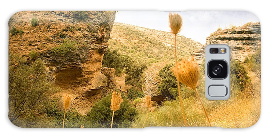 Spain Galaxy Case featuring the photograph Bandit Country Near The Edge Of The Fan In Ronda Area Andalucia Spain by Mal Bray