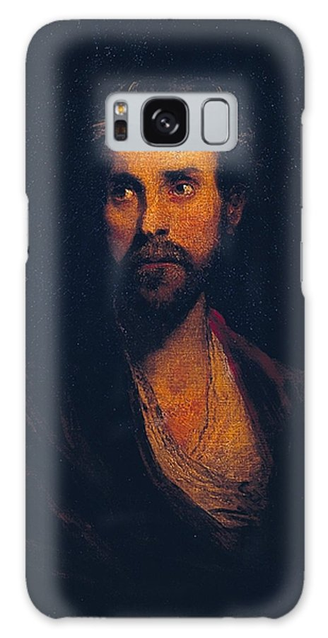 Sir Joshua Reynolds 1723–1792  The Banished Lord Galaxy S8 Case featuring the painting Banished Lord by Sir Joshua Reynolds