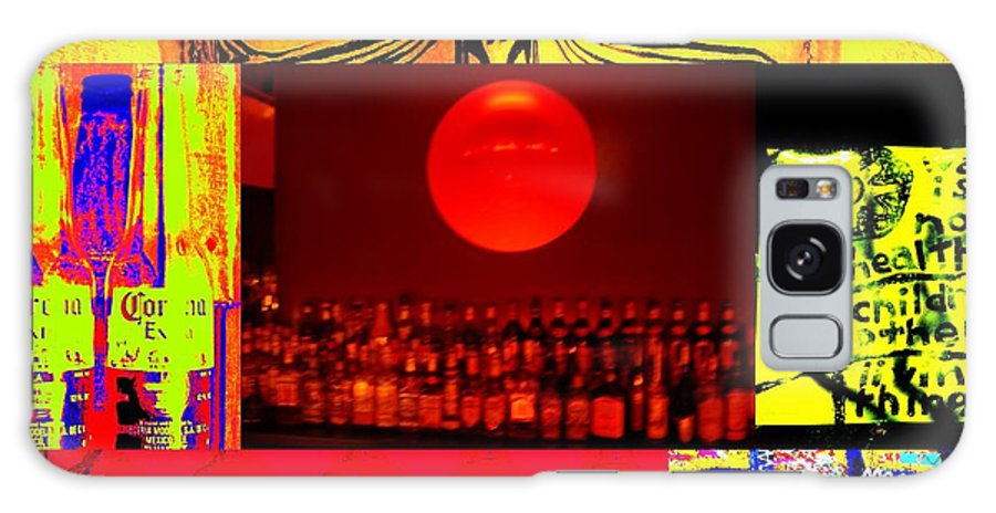 Alcohol Galaxy Case featuring the photograph Bar Binge by Funkpix Photo Hunter