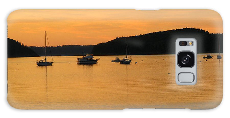 Bar Harbor Galaxy S8 Case featuring the photograph Bar Harbor Sunrise 3 by George Jones