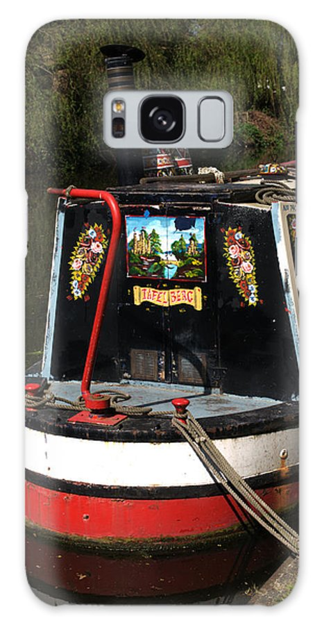 Barge Art Galaxy S8 Case featuring the photograph Barge Art by Chris Day