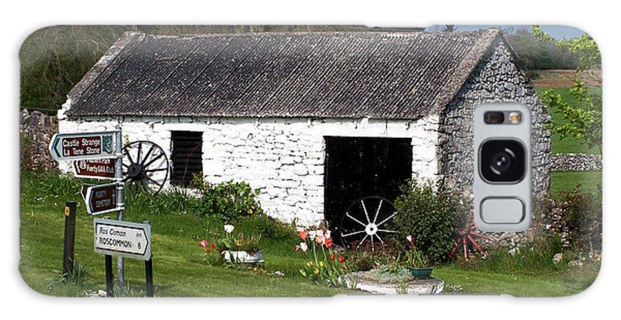Ireland Galaxy Case featuring the photograph Barn At Fuerty Church Roscommon Ireland by Teresa Mucha